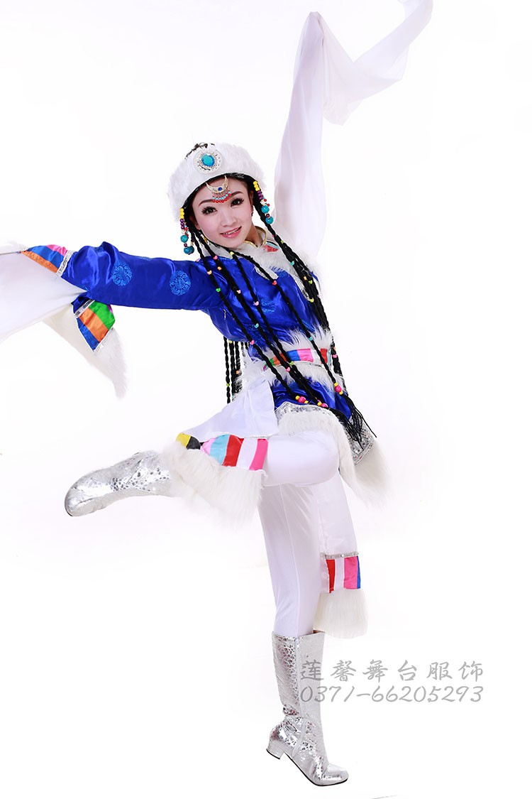 костюм Primroses and ethnic minority dance costumes  2013