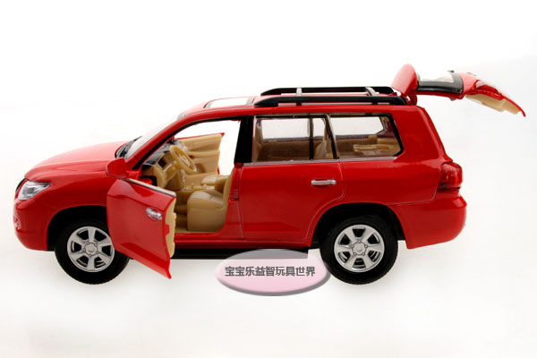 132 Lexus LX570 Die Cast Model Toy Car With Sound And