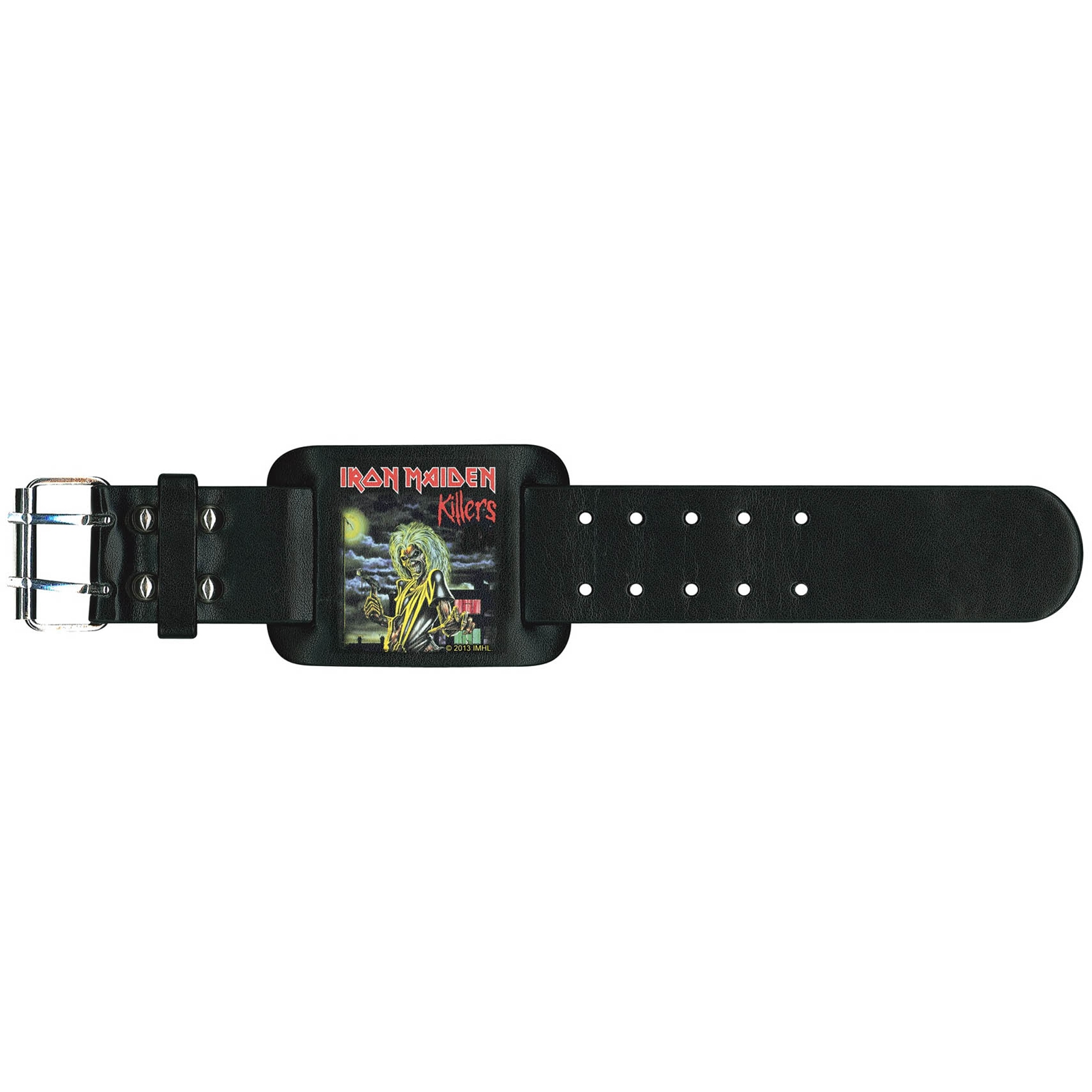 iron-maiden-killers-leather-wristband