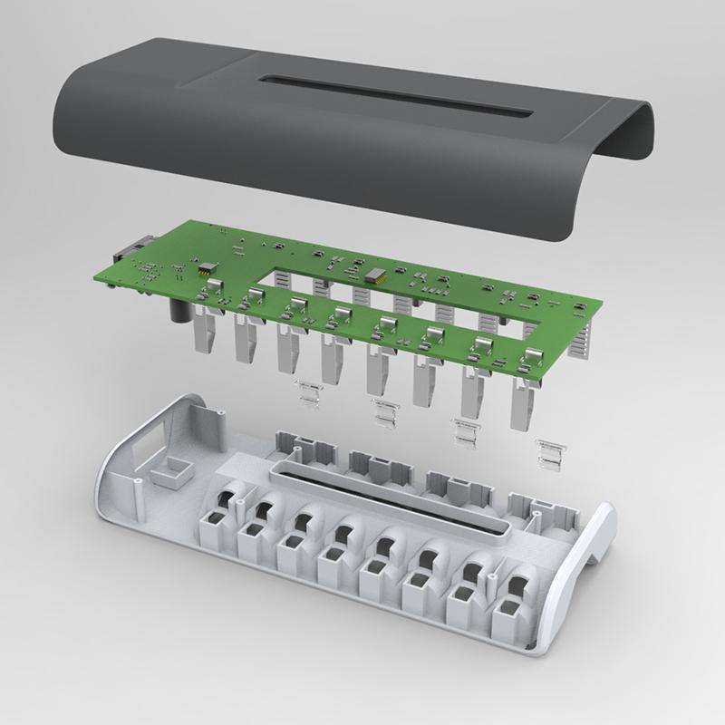 Универсальное зарядное устройство MP MP808 +4 +4