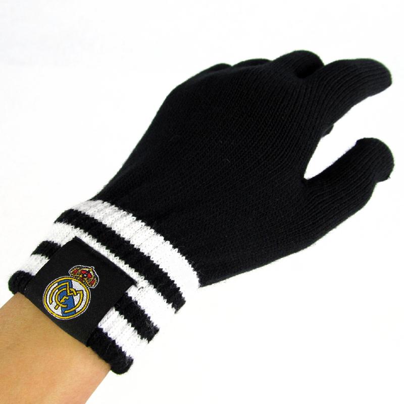 фанатская атрибутика Футбольные болельщики поставляет Арсенал Манчестер Юнайтед Ливерпуль Челси Барселона Реал Мадрид Милан теплые перчатки