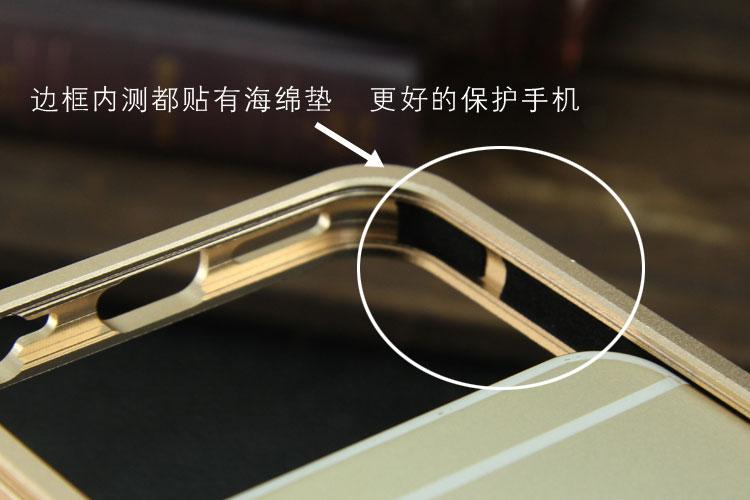 SIMON Mechanical Arm Trigger Aluminum Alloy Metal Bumper Outdoor Case Cover for Apple iPhone 6S/6 & iPhone 6S Plus/6 Plus