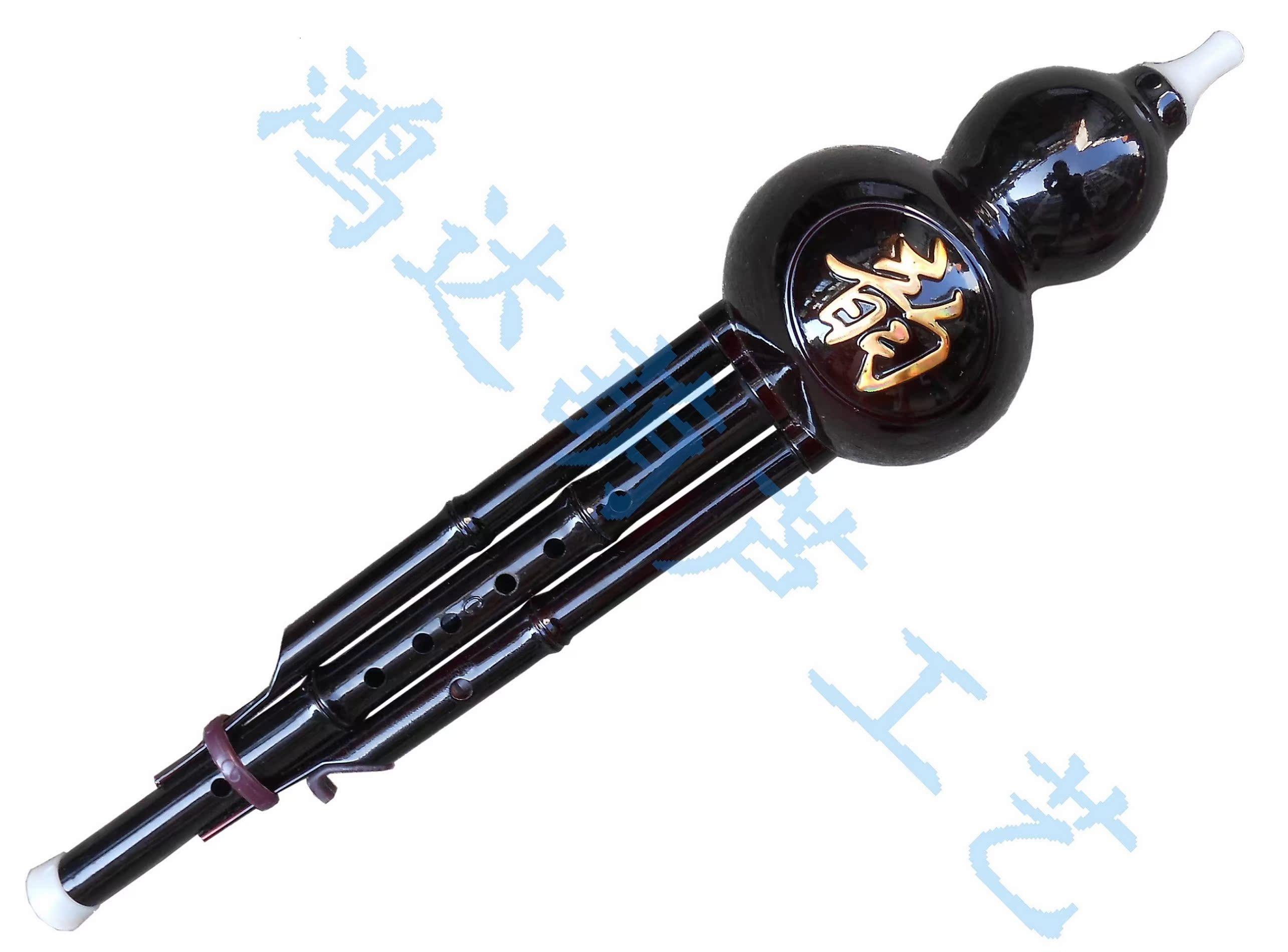 Флейта 厂家直销初学胶木仿红木葫芦丝可拆c调降b调葫芦丝乐器葫芦丝包邮