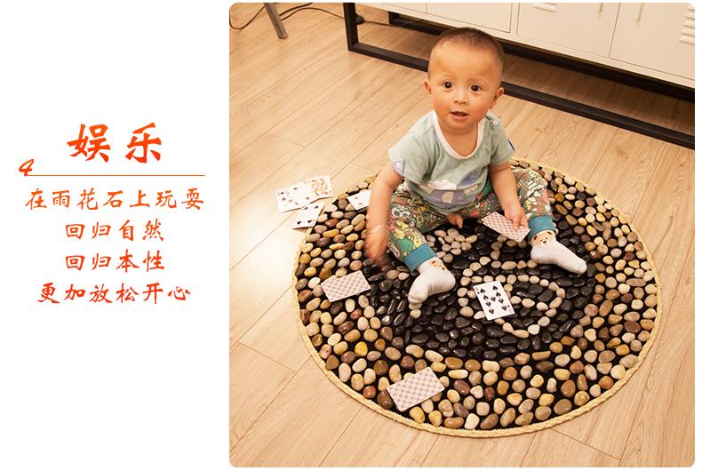 雨花石按摩垫实用父亲节礼物送爸妈婆婆长辈丈母娘创意生日礼品