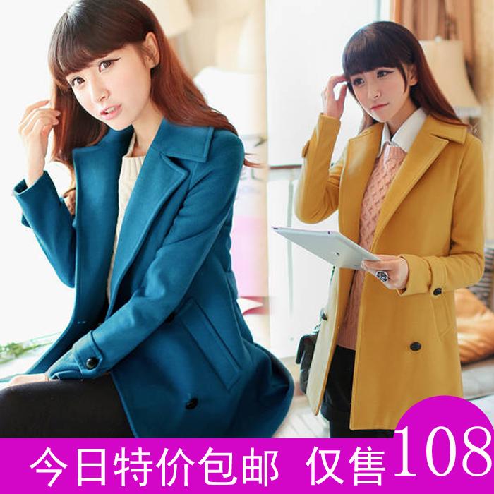 женское пальто Международные британские темперамент нового 2013 года для осень/зима моды бренд шерсти пальто тонкий шерстяной ткани пальто женщин