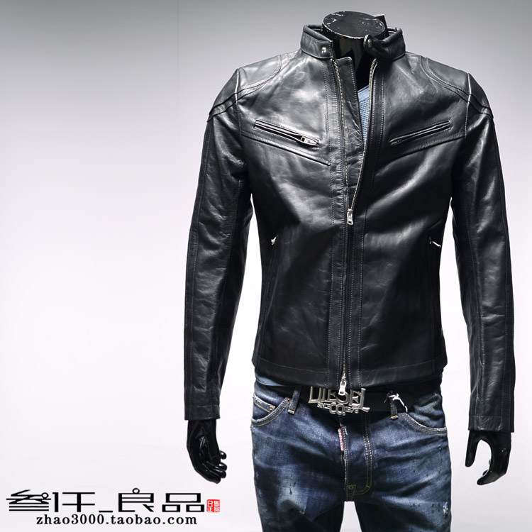 Одежда из кожи Armani exchange AX