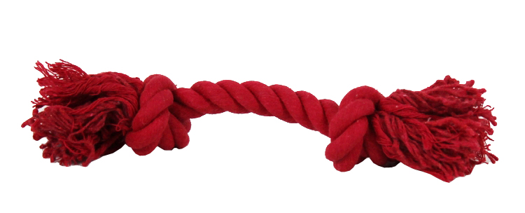 Xirhb Little friends double knot cord molar bite-resistant rope pet toys