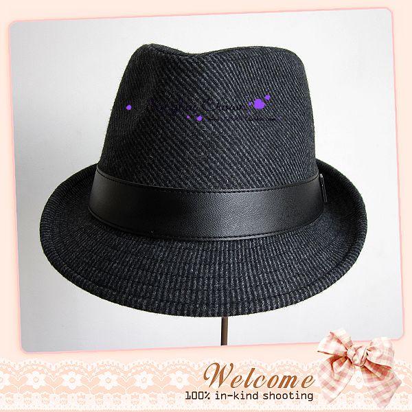 Головной убор «Военно-морская Корона» 12 нам противостоять сэр кожа серый Hat Cap шерсти шапки джентльмен шляпу человек Шапка зимняя Hat