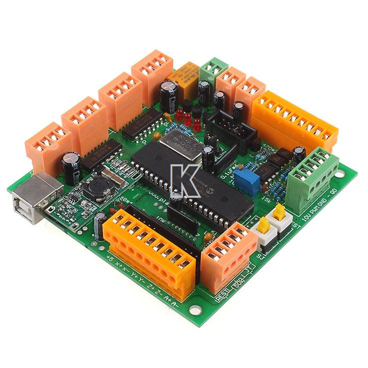 A251 # Për gdhendje maching CNCUSB MK1 USBCNC 2.1 Substitute MACH3 4 Axis USB Bordit CNC Controller Interface