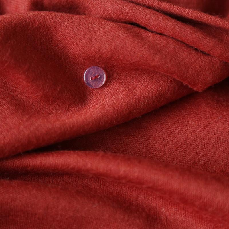 Блузка в китайском национальном стиле Buddha smiled and edge