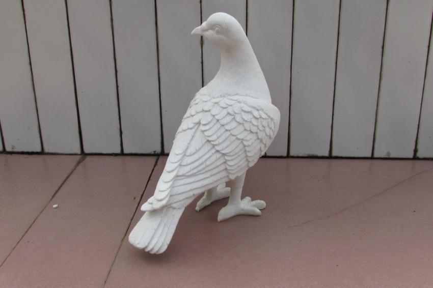 仿真鸽子摆件 动物雕塑工艺品
