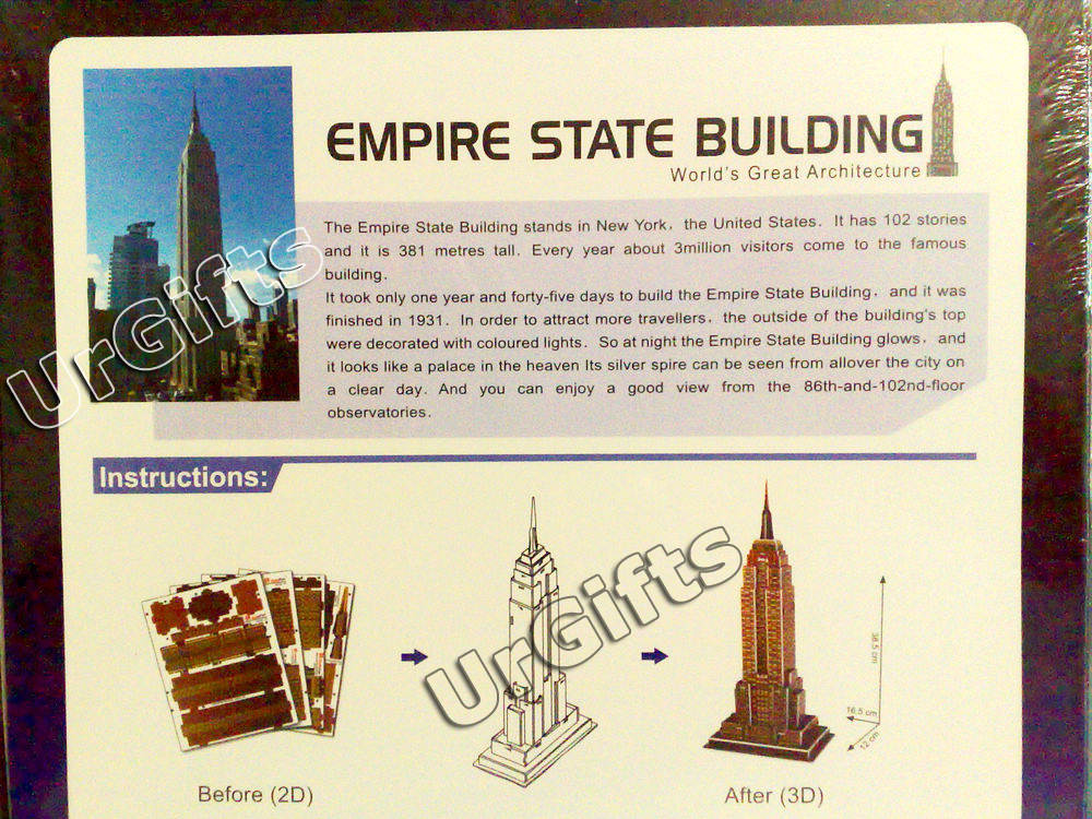 empire state building thesis statement Empire state building the empire state building outline thesis statement: the empire state building did not cause much trouble for new york instead, its construction.