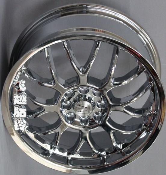 литье «Пролетел над Тиром Белл» гальванических колес 17 дюймовый передних вентилятора Цзе daliwei подходят изменение колеса 4 * 100 114.3