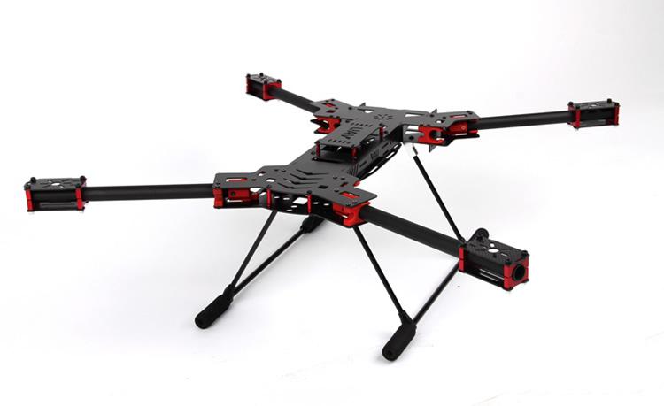 New 680mm Alien Carbon Fiber Folding Quadcopter Frame Kit - RC Groups