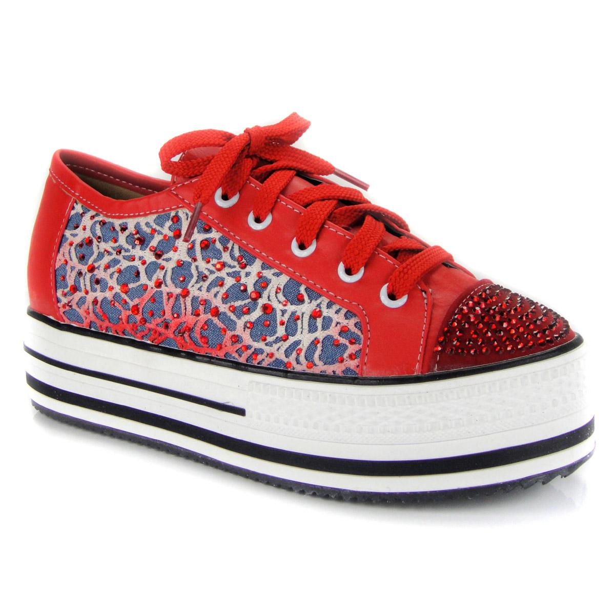 туфли Более высокого уровня в рамках платформы обувь, обувь платформы с кружевные туфли обувь джинсовой ткани с весной и осенью