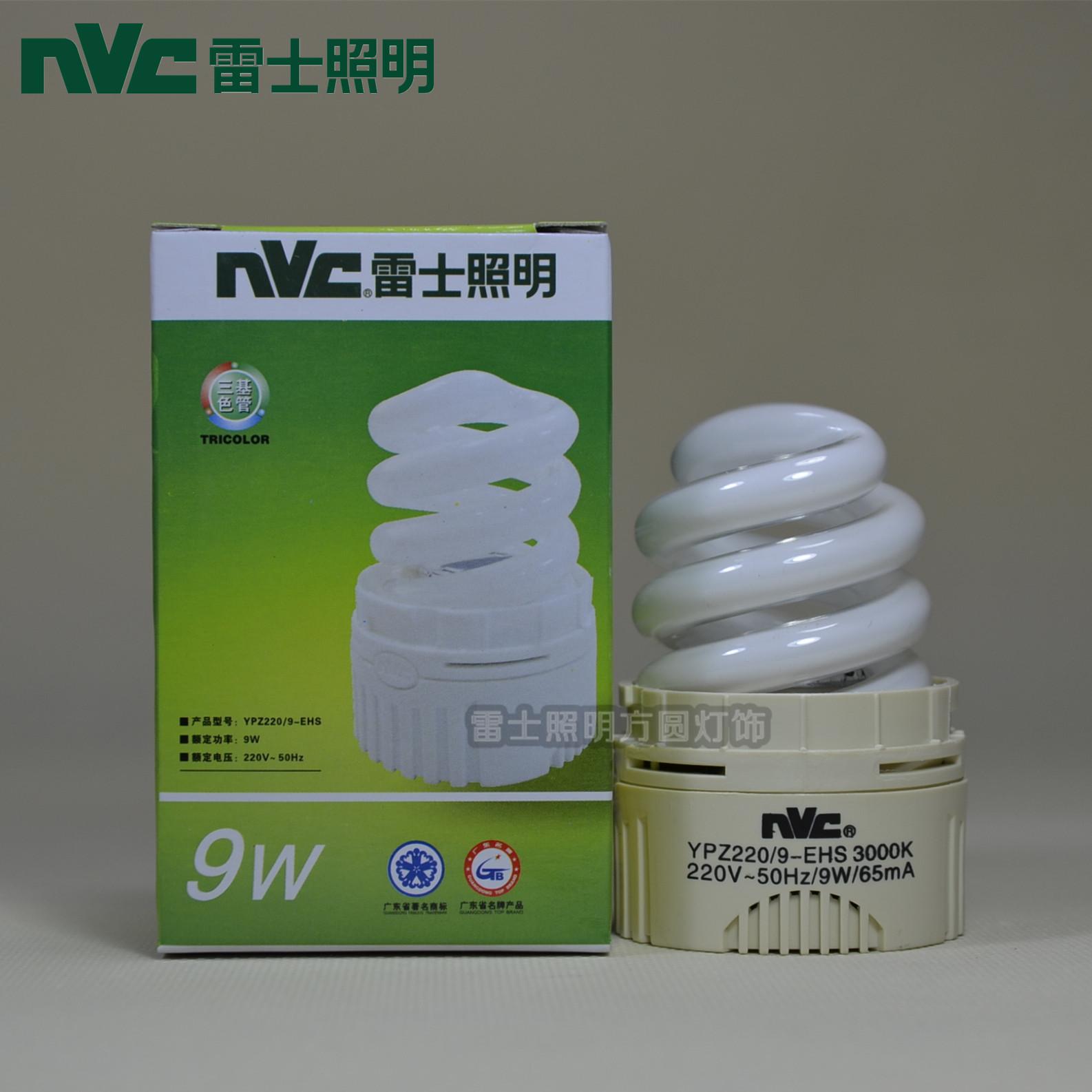 Компактная люминесцентная лампа NVC NVC lighting  9W YPZ220/9