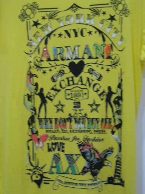 Футболка C5x397 c5x397 5.3 AX ARMANI EXCHANGE L\XL
