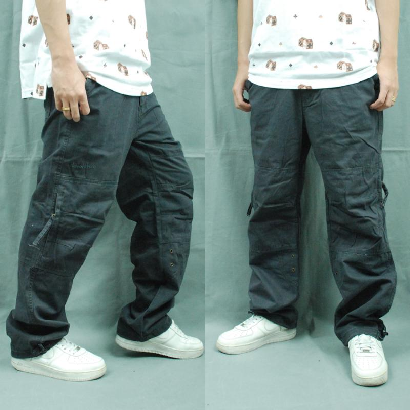 Jin Sesi Hip-hop hip-hop street clothes bboy dress pants to send belt solid fat bags of loose trousers overalls trousers