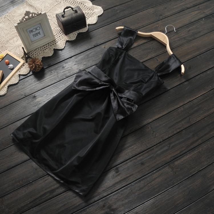 Женское платье 2014 Весна Лето Женская внешней торговли оригинальный новый цветовой контраст шить платье шифон лук платье принцессы