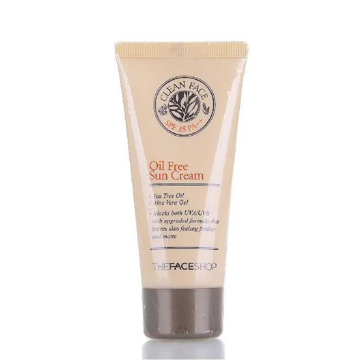 Солнце The face shop  Spf35 PA++