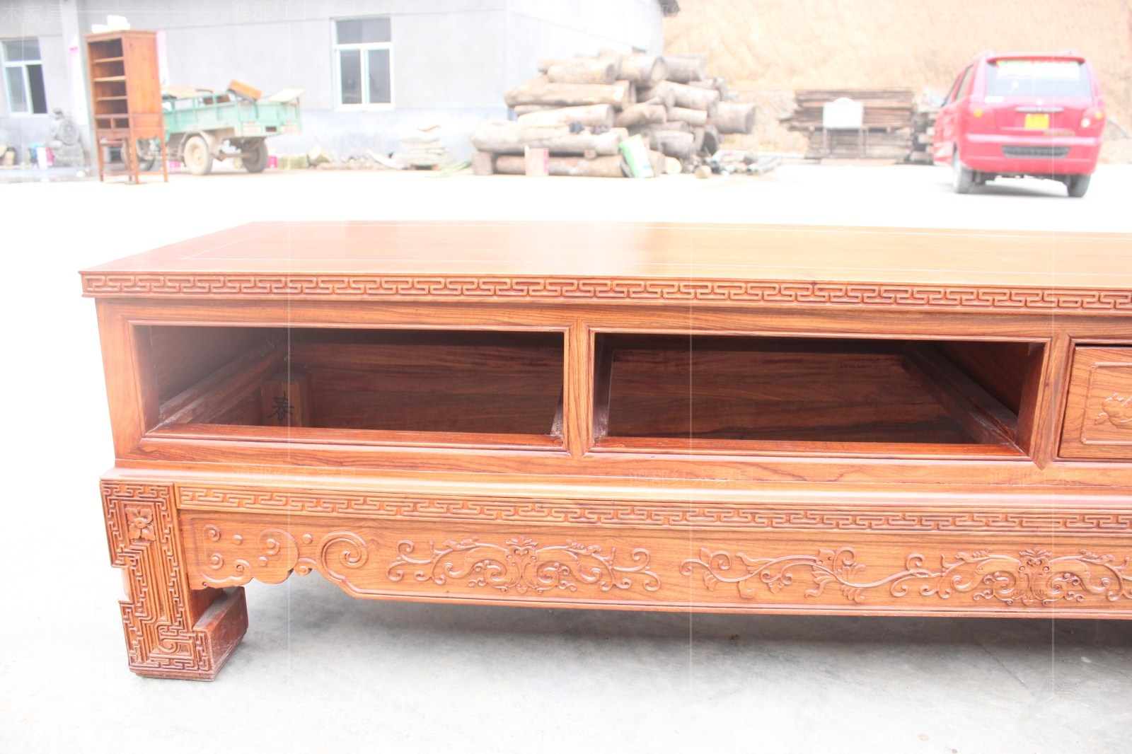 тумба под телевизор Hon Hai County of mahogany furniture