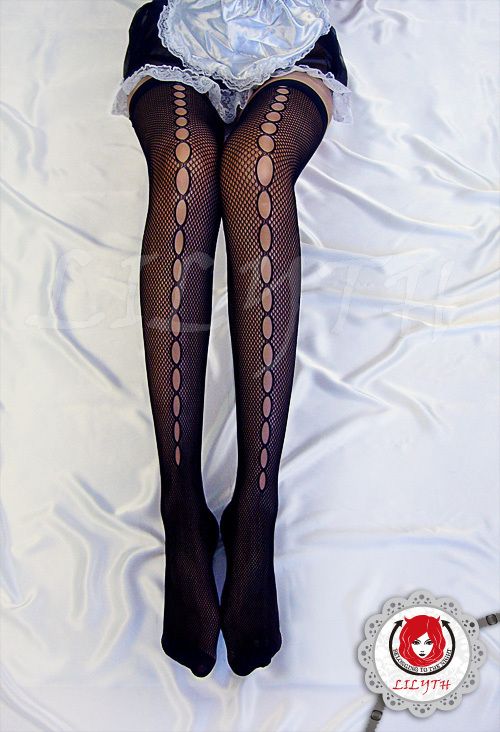 Veegol-HG Stretchy Mesh Soft Ultra-thin Sexy Solid Smooth Womens Stockings