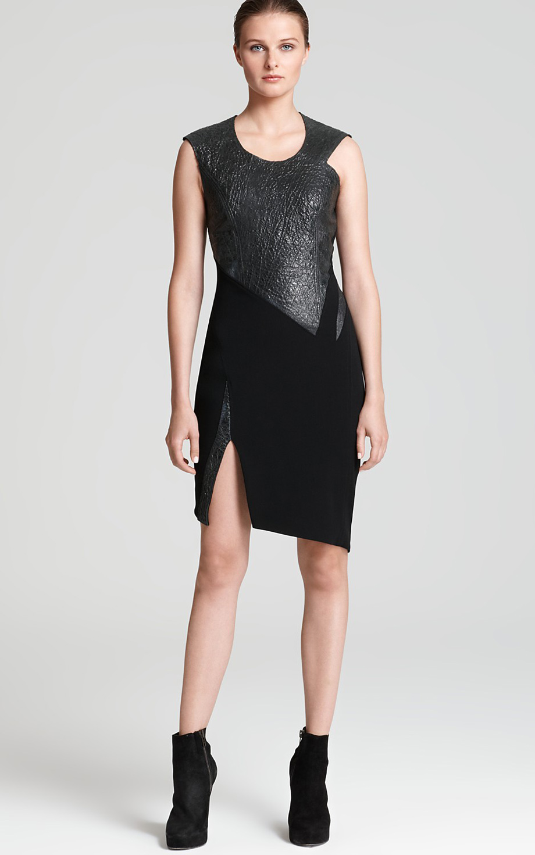 Платье с круглым воротником фото 3