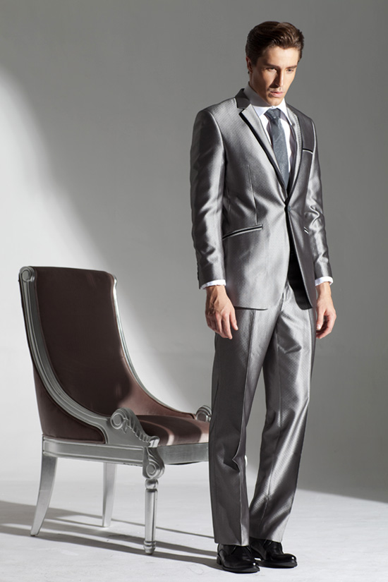 Yeesye Suits men's Korean version of slim facilitator, best man wedding suit groom suit-dress