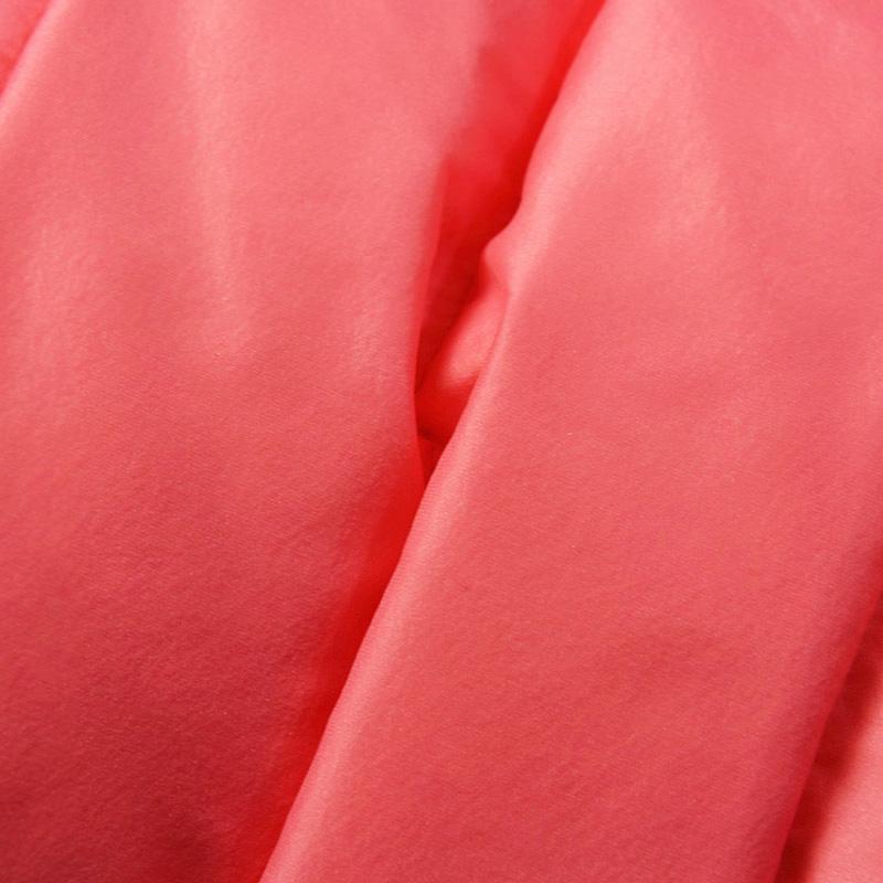 Женский пуховик Аврора зимние Европе порошковые пигменты и теплые перчатки прекрасный роскошный мех воротник съемный Толстовка мужская куртка