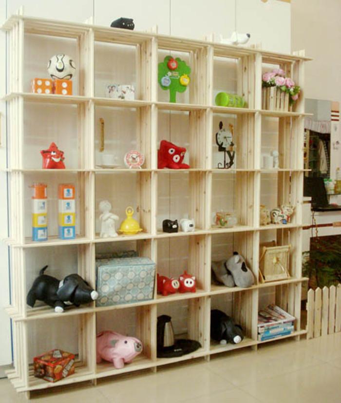 Деревянный стеллаж для игрушек своими руками 25