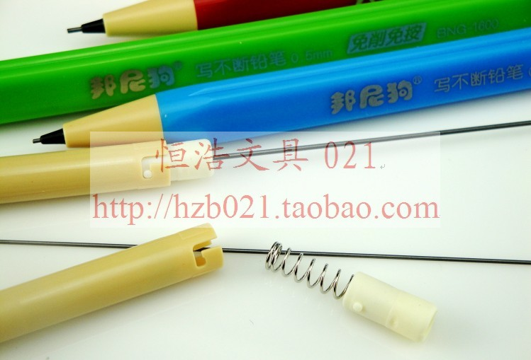 Bonnie dog Writing Stationery Supplies no Cut Press Pole Triangle Environmental Durable Pencil