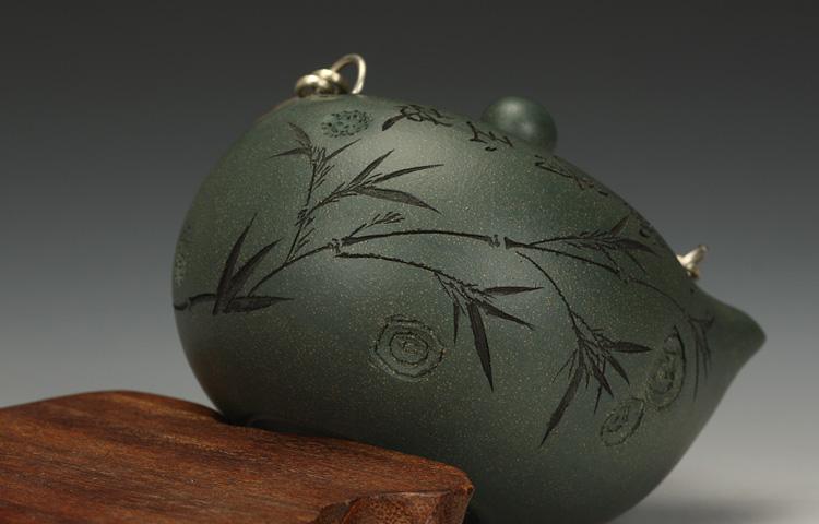 Huboss Famous Yixing zisha teapot tea edge purple dream hand teapot Wang zhengguo azure mud a genuine love handle