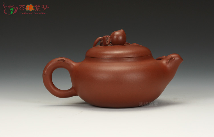Huboss Famous Yixing zisha teapot tea edge purple dreams all genuine handmade teapots Wang Zheng-Guo Red Dragon longevity peach pot