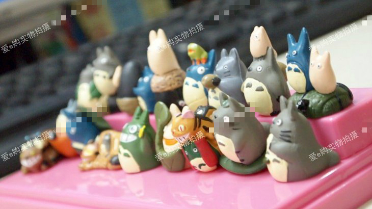 Hayao Miyazaki TOTORO Miyazaki's Totoro doll idea DIY display doll buys decorations for Christmas to send female birthday gift