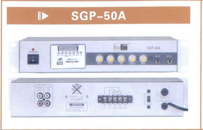 hi fi Усилитель мощности EodExo  50W USB SD SGP