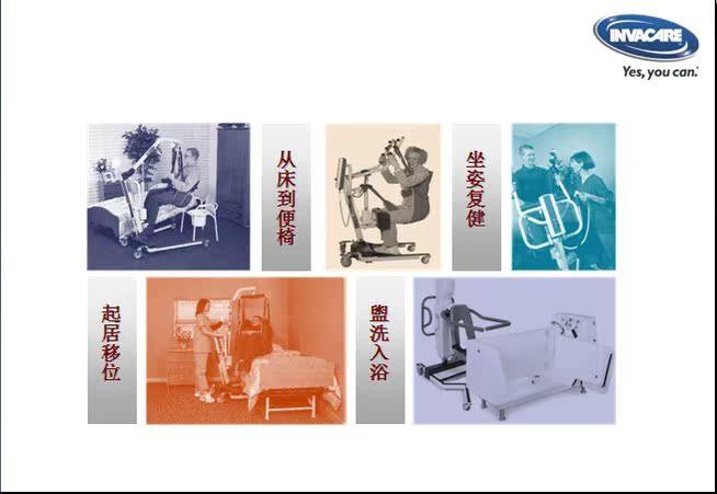 美国  英维康 电动护理移位器 电动提升机 截瘫以及卧床老人适用(图4)