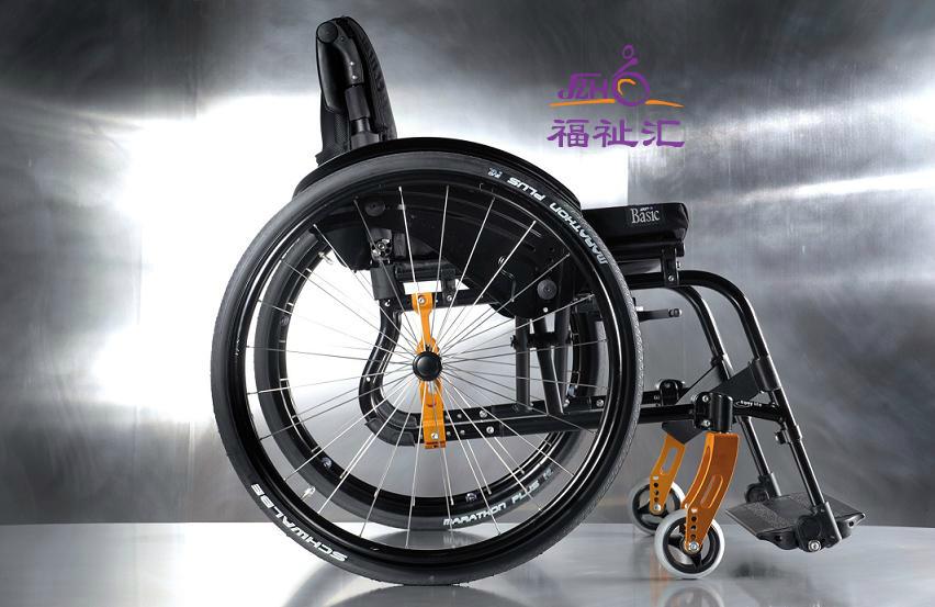 美国 Quickie Life 铝合金运动型轮椅 量身定制/纯进口/高品质(图2)