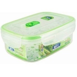 Zengoa Revitalization BX6177 square sealed crisper 800ML transparent plastic lunch box food storage boxes
