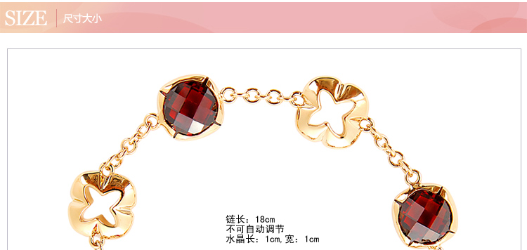 Italina crystal jewelry bracelet female gypsy Legends