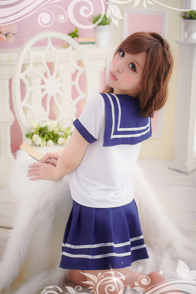 Veegol-HG Sexy lingerie Japanese school uniforms Japanese sailor uniforms uniform temptation princess dress school uniform