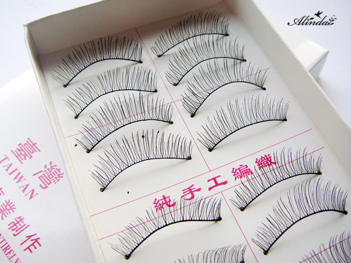 Alinda Cross nude make-up manual simulation eyelash 217