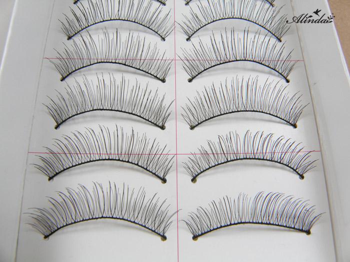 Alinda Cross nude make-up manual simulation eyelash 217