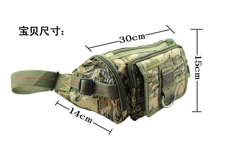 pockets upgraded version of jungle camouflage attacking fashion outdoor Pocket multifunction pockets