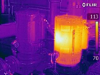 Motor - FLIR T440 Infrared Image with MSX
