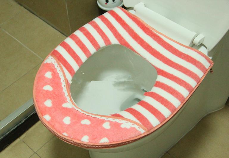 Крышка для унитаза 2 должности туалет туалет туалет мест Туалет подушки. Молния унитаза колодки твердых сортов пшеницы
