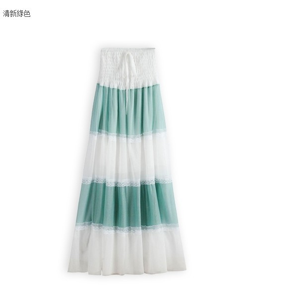 Summer chiffon long dress
