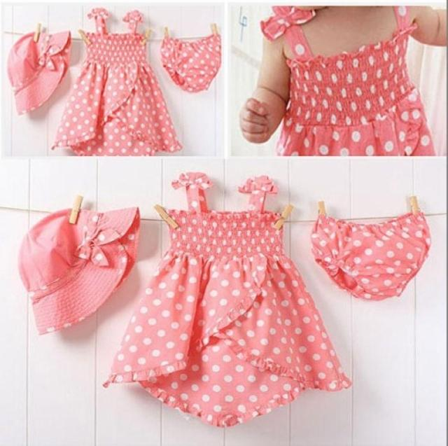 2017 Baby' Dress/ Baby Clothes/100%cotton Baby Girls Skirt With ...