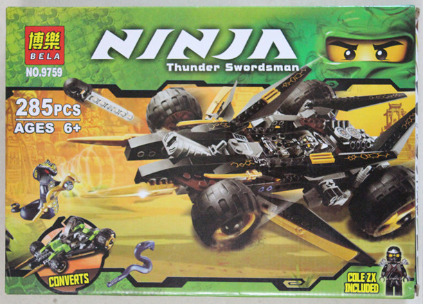 Bela ninjago tread assault 9759 lego end 1 4 2019 1 23 pm - Lego ninjago voiture ...