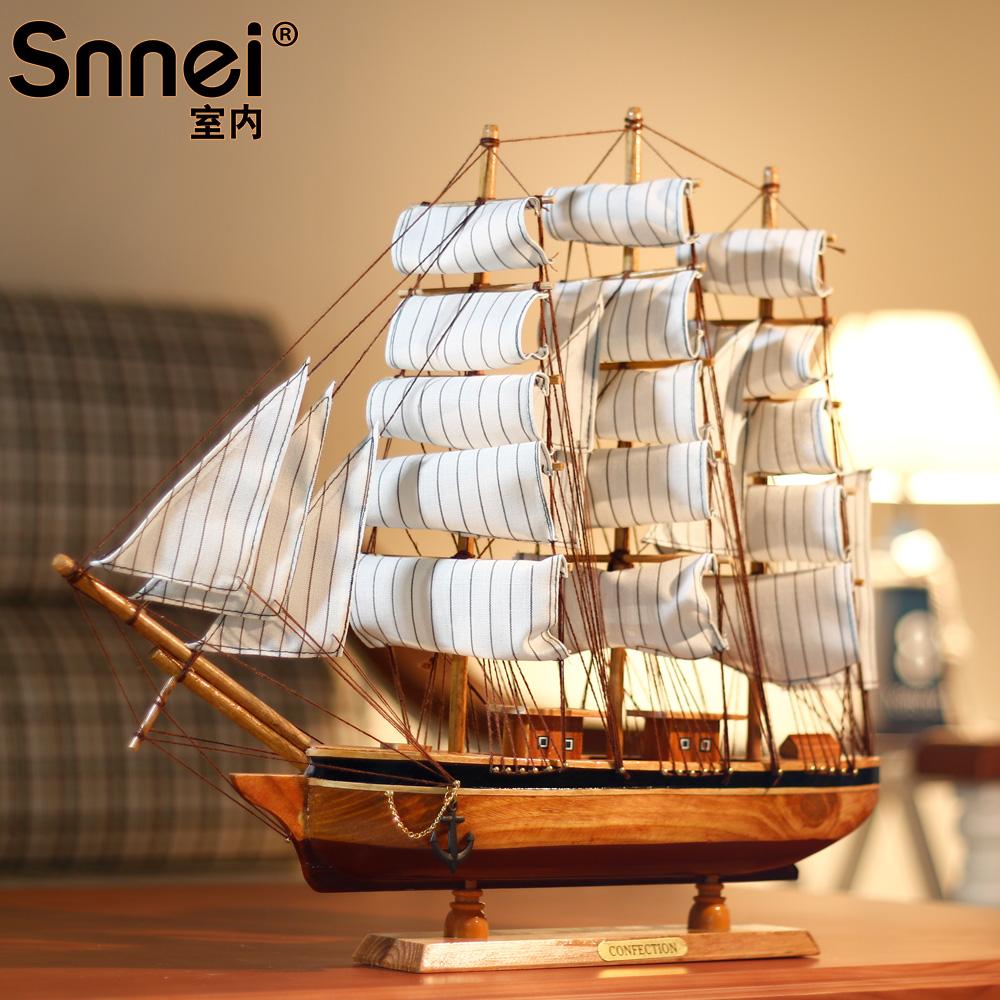 Декоративный корабль Snnei sb0692