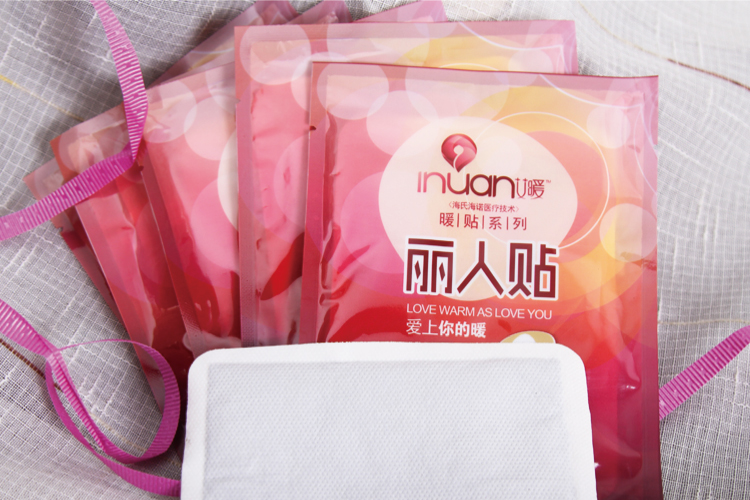 Inuan warm paste beauty put heat paste warm baby stickers woman 30PCs